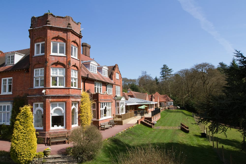 Huntington and Langham care home
